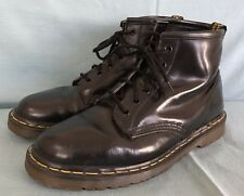 Vintage Dr Martens Boots UK 9 US Men's 10 Women's 11 Made in England 6 Eye Doc