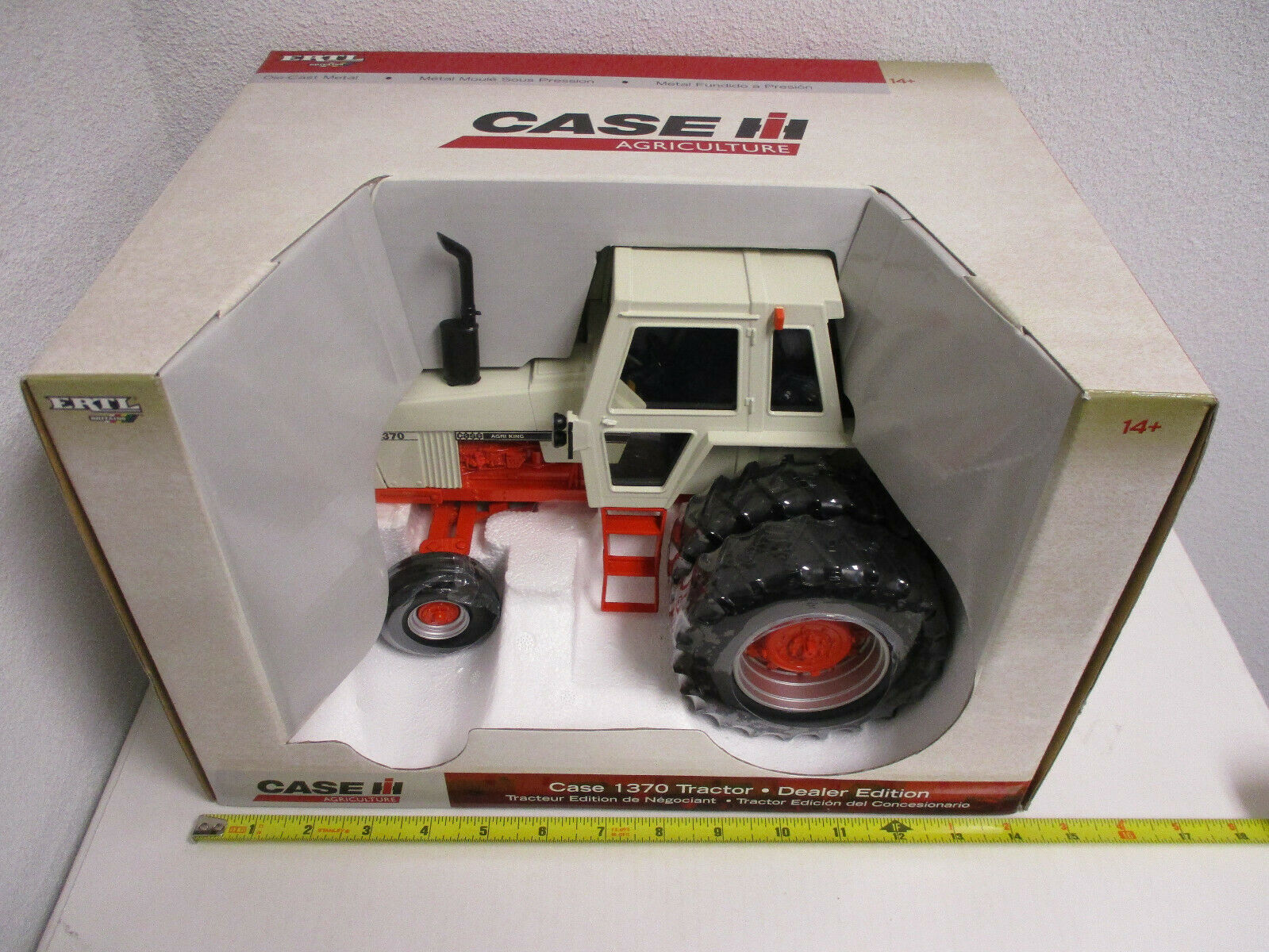 Case 1370 With Duals Dealer Edition by Ertl 1 16th Scale