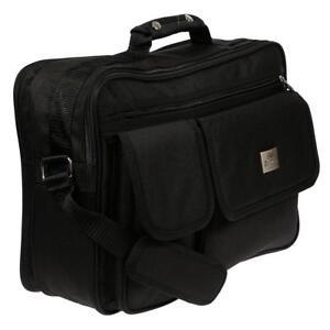 49dfdcc0b949f Das Bild wird geladen Herren-Business-Umhaengetasche-Flugbegleiter-Tasche- Messenger-Arbeitstasche-UNI