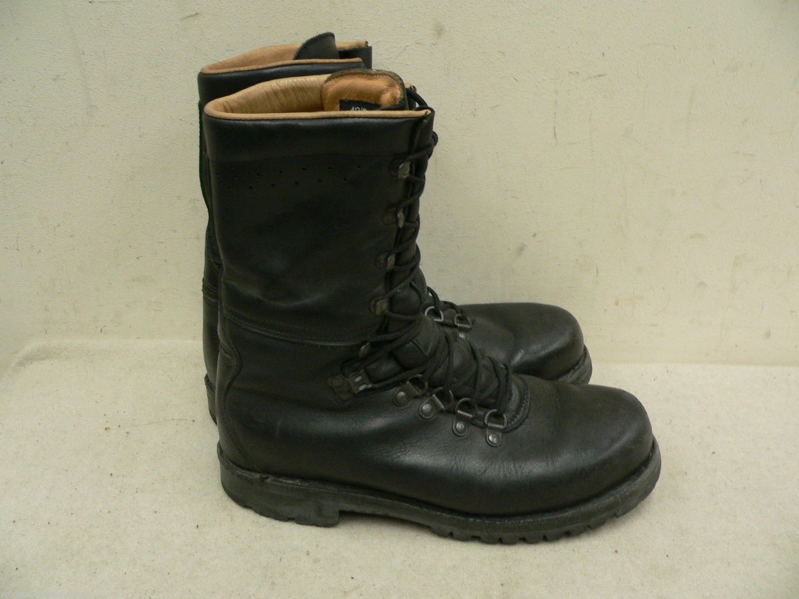 Austrian Walking combat Boots  Leather Mountain Army Surplus - Fully Lined