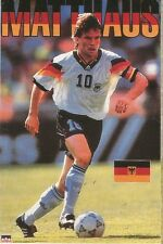 LOTHAR MATTHAUS GERMANY Original Starline Poster MINI Promo Piece 3x5