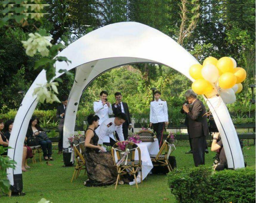 Air Tight GONFIABILE commerciale commerciale commerciale matrimonio evento giardino prato da giardino tendone tenda NUOVO 5bb