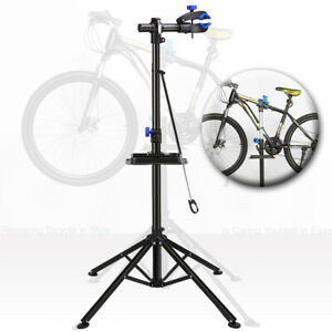 Bicycle-Bike-Repair-Stand-Height-Adjustable-Folding-Mechanic-Maintenance-Station