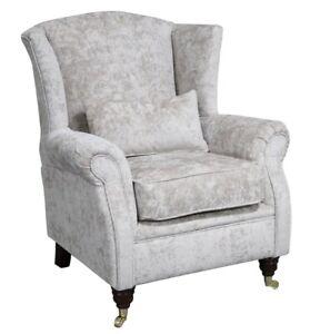 Ashley-Wing-Chair-Fireside-High-Back-Armchair-Nuovo-Stone-Velvet