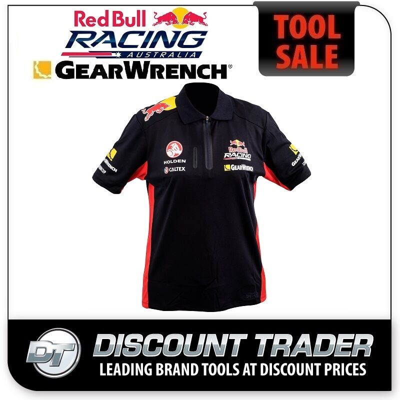 Red Bull Racing Zip Neck Navy/Red Polo V8 Australian Supercars Navy/Red Neck - V8POLO f3b87f