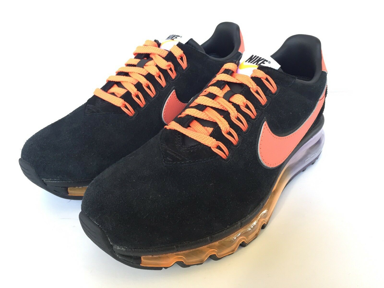 NIKE ID BLACK/ORANGE Damenschuhe AIR MAX 2017 BLACK/ORANGE ID US WMNS SZ 7.5  BRAND NEW 1b0097