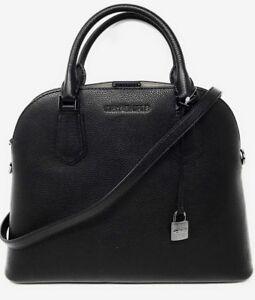 MICHAEL KORS TASCHE/BAG ADELE MD DOME SATCHEL Leather ...