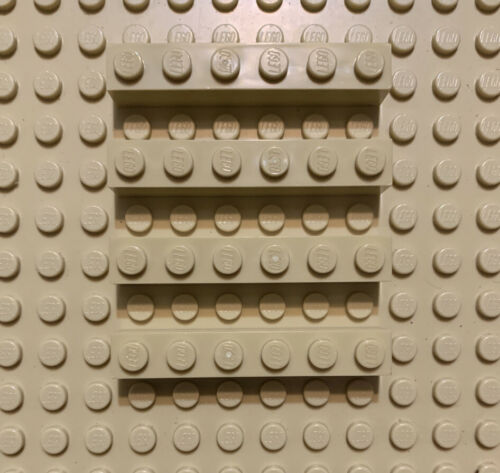 Lego Brick 1x6 Dark Tan 1x6 brick block 3009 4112982 Dots Dot Brick Pieces New