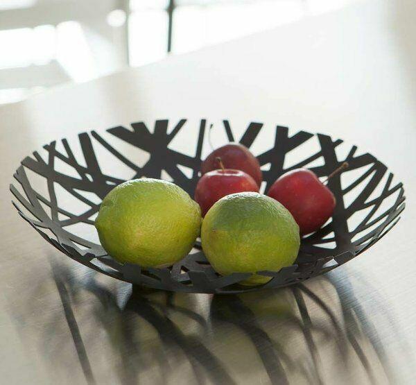 Yamazaki Tower Fruit Bowl Metal Nest Black Contemporary Design S7131 Ship For Sale Online Ebay