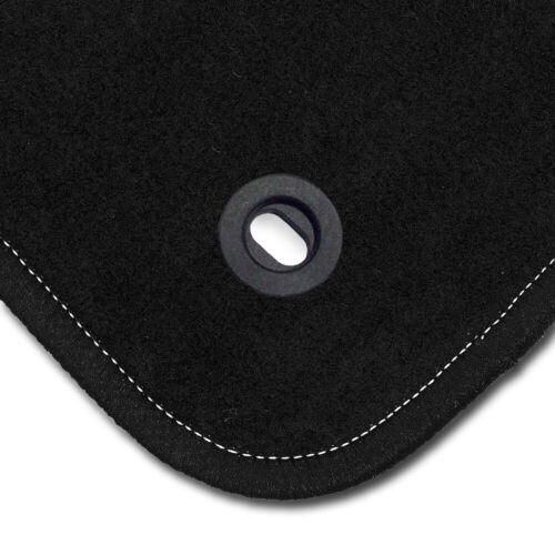 Auto-Fußmatten Supreme schwarz für Hyundai Coupe GK 2002-2009 Autoteppiche