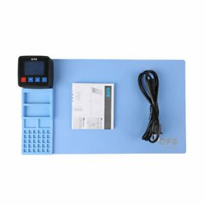 Heating Station Heat Plate Pad CPB LCD Touch Glass Screen Tool iPad Tablet 220V