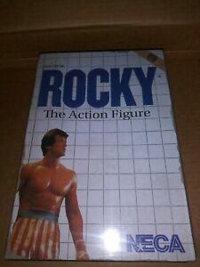 Neca Rocky Action Figure Style De Jeu Vidéo Bobine Jouets Mgm Boxe 2014 Scellé