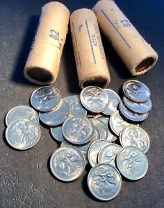 1980-5-Cent-Australian-Decimal-Coin-x1-Uncirculated-From-Mint-Roll-Suit-PCGS