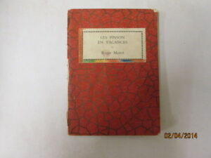 Acceptable-Les-Pinson-en-Vacance-Mairet-R-1938-01-01-This-edition-1937-Ex