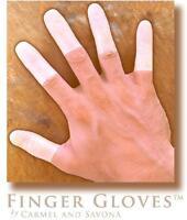 Reusable Rubber Finger Gloves(tm) For Durable And Versatile Finger Only Coverage on Sale