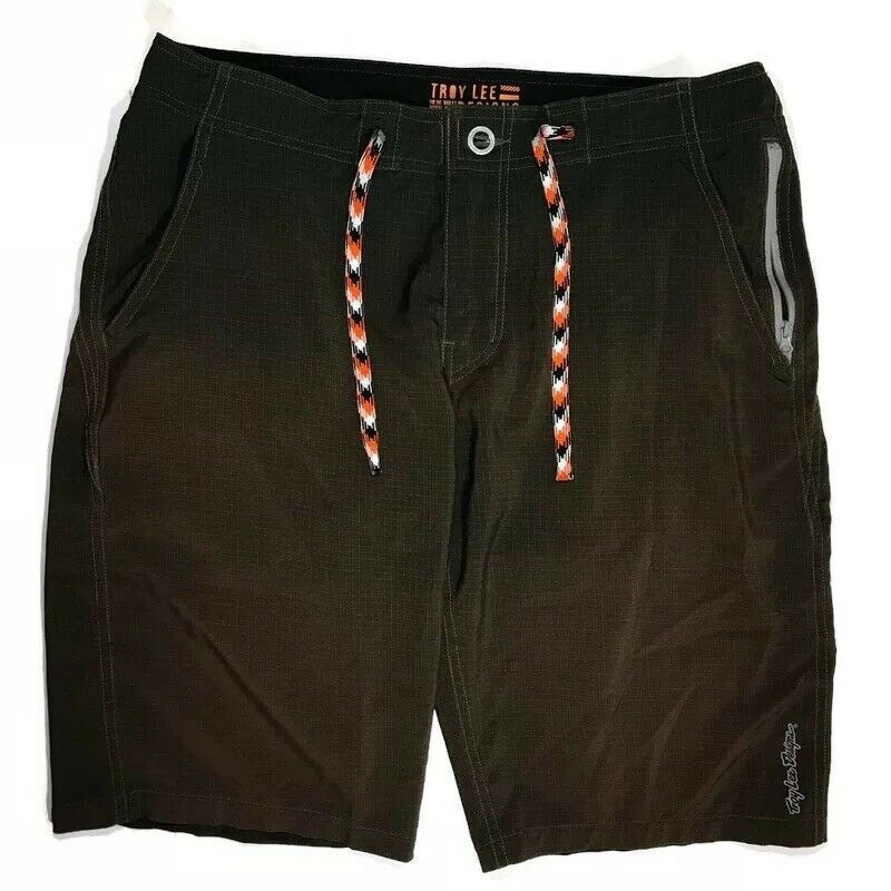 Troy Lee Designs Mens 32 Mountain Biking Wheels  Collection Green Shorts  fast shipping and best service