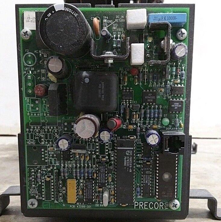PRECOR EFX556 EFX 556 - ELLIPTICAL ELLIPTICAL ELLIPTICAL POWER SUPPLY MOTOR CONTROLLER BOARD 43599-301 22fbc0