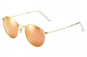 074d793112a Image is loading NEW-Genuine-RAY-BAN-Copper-FLASH-LENS-Round-
