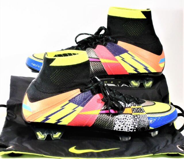new style 0c8cf 23dff Nike Mercurial Superfly SE FG What The Soccer Cleats Sz 9.5 NEW 835363 007  RARE