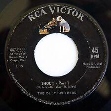 HEAR Isley Brothers 45 Shout RCA 447-0589 soul R&B killer dancer