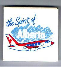 "Spirit of Alberta 2"" Pinback Button Airline Advertising Jet Airplane Air Canada"