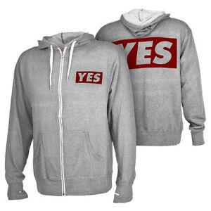 Wrestling Daniel Bryan Yes Mens Red Zipper Hoody Sweatshirt