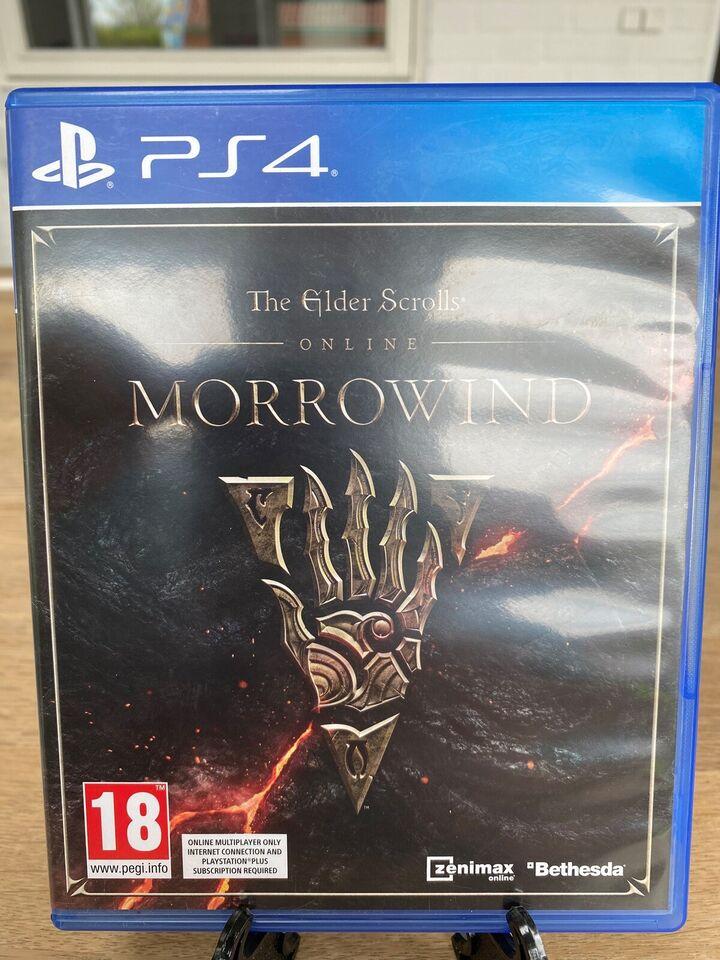 The Elder Scrolls: Morrowind - Online, PS4, MMORPG