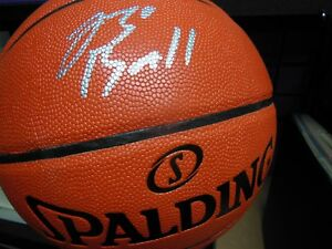 47b2f8f5e52 Image is loading LONZO-BALL-Signed-Spalding-Basketball-NBA-LA-Lakers-