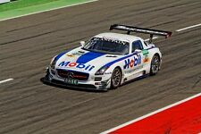 #21 Mobil 1 Oil SLS AMG GT3 2014 1/32nd Scale Slot Car Decals