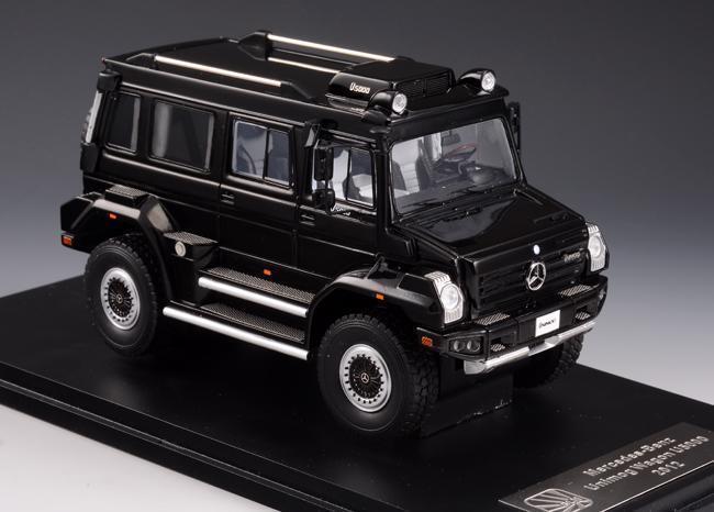 Glm Models 205602 Mercedes Unimog  Wagon Noir Résine 1 43 Echelle 172 Of 199  voici la dernière