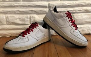 sale retailer f964a 7ce2e Image is loading Nike-Air-Force-1-Premium-Scarface-White-Black-