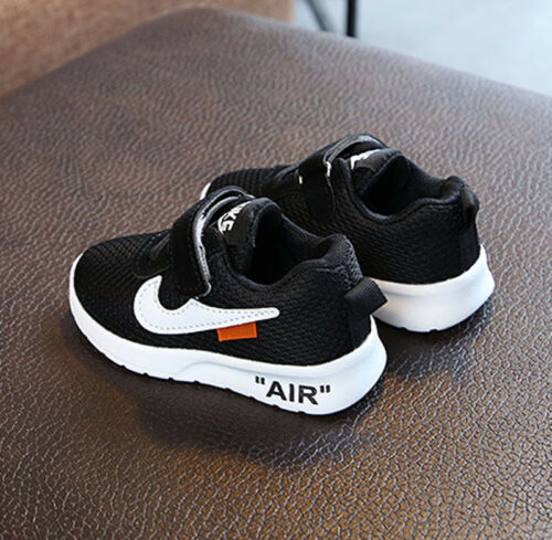 Kids Infants Boys Girls Trainers Sport Shoes Baby Casual Running Shock Air Shoes