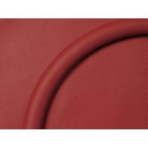 """14"""" Red Leather Billet Specialties 29005 Steering Wheel Half-Wrap Ring"""