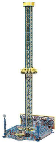 FALLER 140325 Spur H0 Fahrgeschäft Freifall-Turm #NEU in OVP# Power Tower