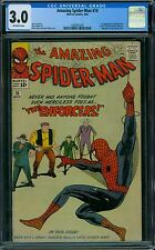 Amazing Spider-Man 10 CGC 3.0 - OW Pages