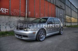 Front Central Bumper Spoiler Splitter fits VW BORA 1998-2005