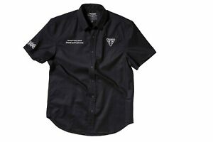 Details about GENUINE Triumph Motorcycles Moto 2 Black Button Up Shirt NEW  GP 765 RS