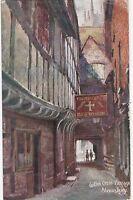 Artist Drawn, Golden Cross Passage, SHREWSBURY, Shropshire