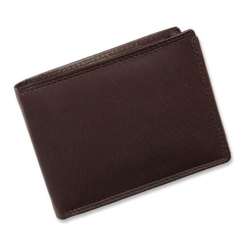 Geldbeutel Geldbörse Brieftasche echtes Leder Portemonnaie Damen Tillberg quer