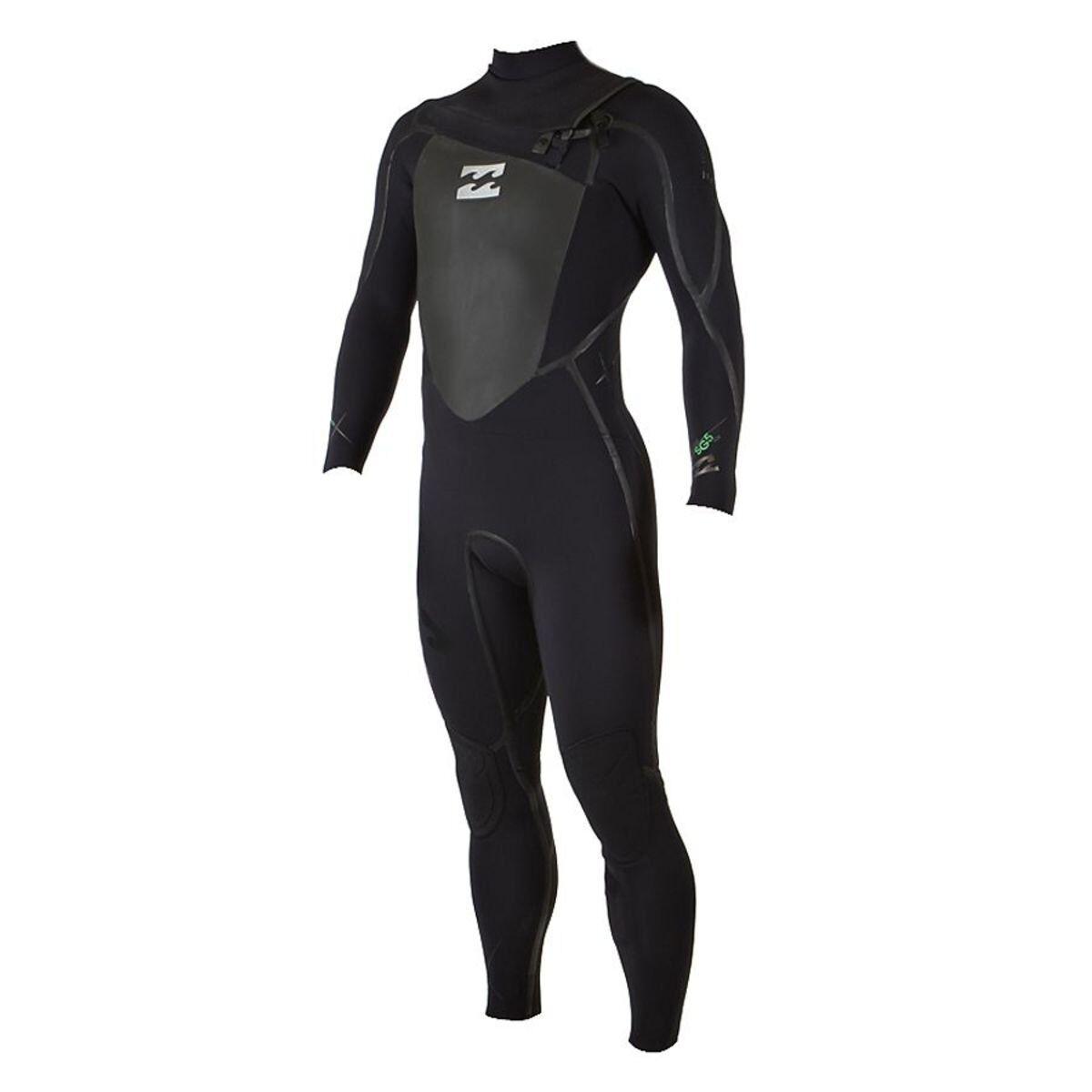 Billabong Solution SG5 CHEST ZIP 5mm Full Wetsuit Size Large Short LS F45M03