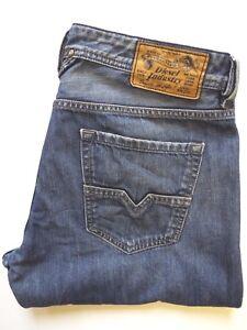 Diesel-Larkee-Jeans-Regular-Straight-Fit-w33-l34-Wash-008xr-mittelblau-levj-808