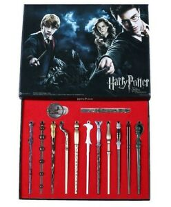 New-11-PCS-Harry-Potter-Hermione-Dumbledore-Snape-Magic-Wands-With-Box-Halloween