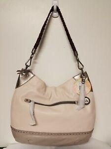 78ecbb9b01 The Sak Indio Large LEATHER Hobo Handbag in SHADOW SPARKLE BLOCK ...
