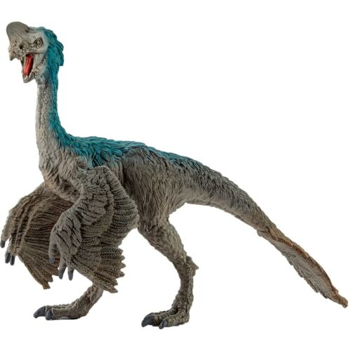 OVIRAPTOR dinosauri in resina SCHLEICH miniature 15001 Dinosaurs LA CONQUISTA DE