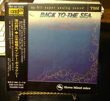 BACK TO THE SEA BINGO MIKI & INNER GALAXY ORCHESTRA XRCD 24 BIT K2 TBM JAPAN CD