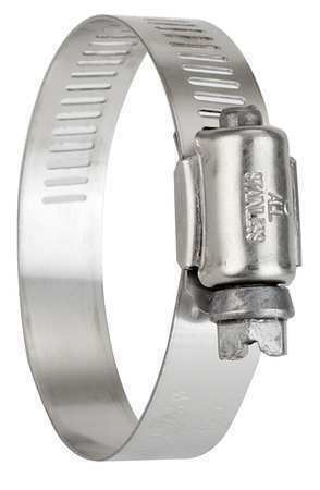 ZORO SELECT 5240070 Hose Clamp,2 to 3 In,SAE 40,SS,PK10