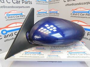 Porsche-Boxster-986-Wing-Mirror-Left-Side-N-S-Lapis-Blue-5-pin-13-8