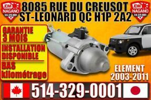 démarreur starter Honda Element 2003 2004 2005 2006 2007 2008 2009 2010 2011 automatique automatic Greater Montréal Preview