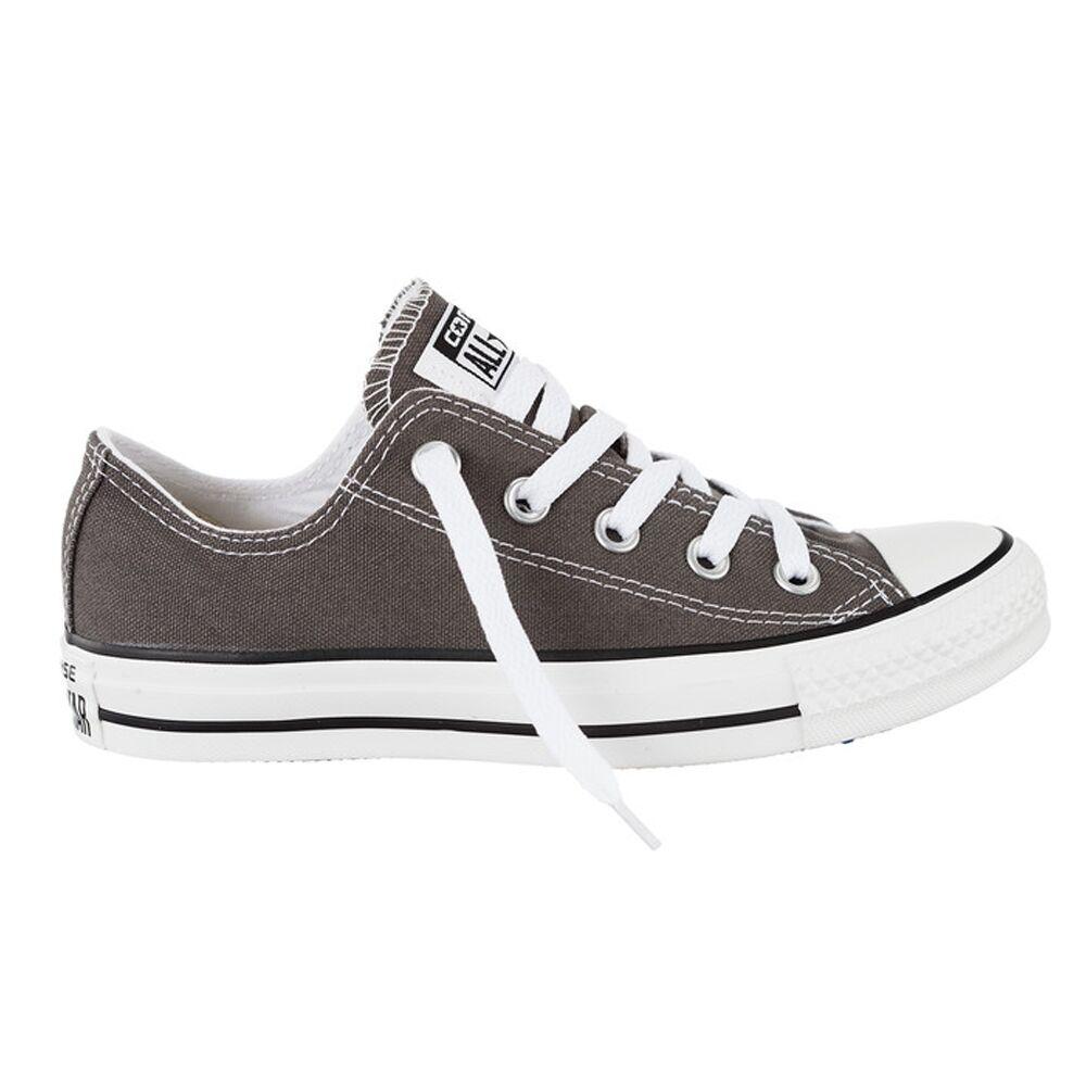 Converse Chuck Taylor All Star low Schuhe Charcoal Grau Chucks Schuhe Herren Dam