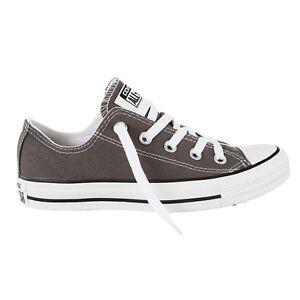 Details zu Converse Chuck Taylor All Star low Schuhe Charcoal Grau Chucks  Schuhe Herren Dam